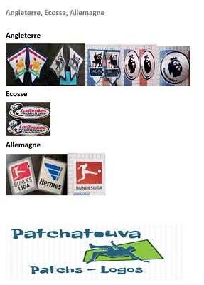 13//14 France Patch Badge Ligue 1 maillot de foot du Paris.SG Champion 2013