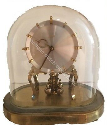 Brass Stand For Oval Kundo Or Kieninger Und Obergfell Anniversary Clock 5
