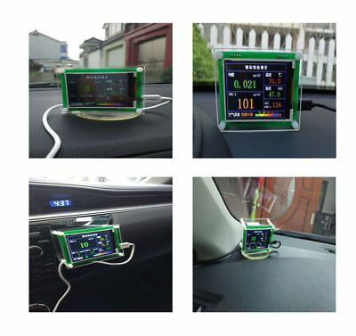 Household PM2.5 Detector Module Air Quality Dust Sensor TFT LCD Display Monitor 4