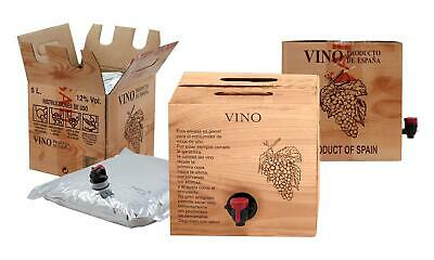 Bag in Box 5L Vino Tinto Joven Bodega Los Corzos 2
