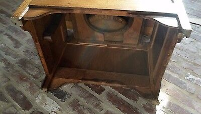 9 Of 11 Antique Mission Oak Commode Chamber Pot Chair Potty Toilet Box Wood  Seat