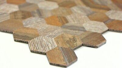 Boden Wandfliesen Selbstklebende Holzoptik Mosaik Kuchenruckwand Spritzschutz Hexagon Wb200 2022 Sapiens Co Nz