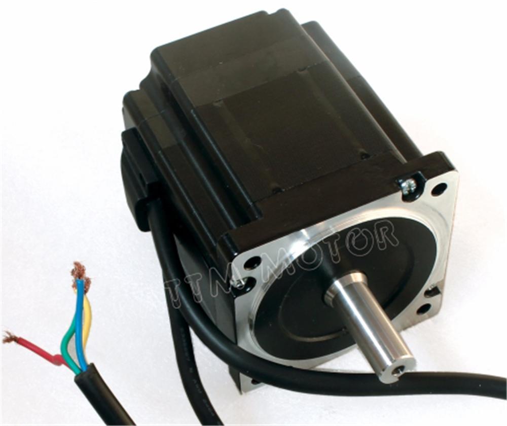 EU 3 x Nema34 4.5N.m CNC Kit Closed Loop Servo Motor 82mm &HSS86 Driver&3M Cable 3