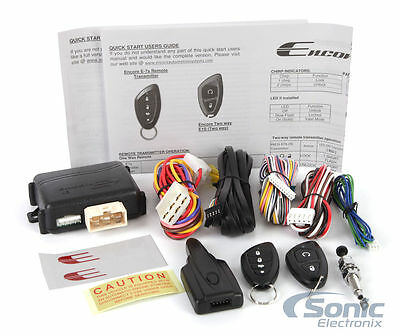 Encore E5 2-Way Car Remote Start Keyless Entry Vehicle Security System 10
