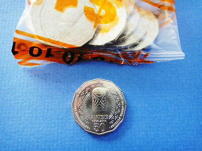 2014 - Australian - Aiatsis - 50 Cent Coin From - Ram - Unc - Low Mintage - Rare 4