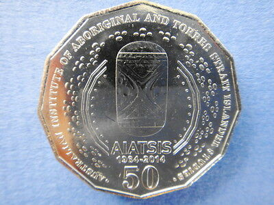 2014 - Australian - Aiatsis - 50 Cent Coin From - Ram - Unc - Low Mintage - Rare 3