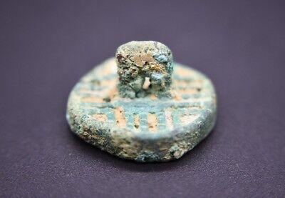 Rare ancient Amlash bronze seal C. 9th - 8th century BC 2