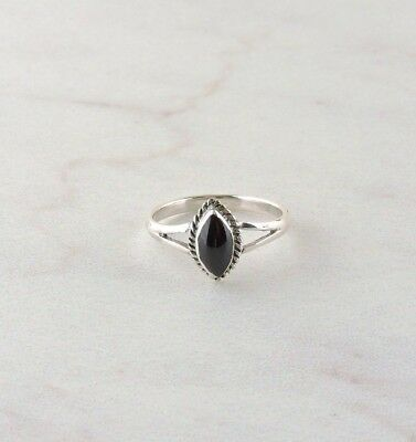 Sterling Silver Black Onyx Ring Free Gift Packaging