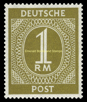 EBS Germany 1946 Allied Occupation Numerals set Michel 911-937 MNH** 3