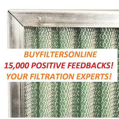 Ultimate Allergy Home Pleated Air Filter! Washable Permanent Reusable Furnace Ac 9