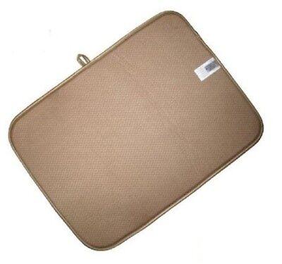 FINNTM DUAL SIDED XL Dish Drying Mat Kitchen Tan 18\