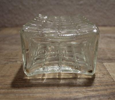 Alte Whiskykaraffe?? Flasche Glaskaraffe Glas 0,5 L 6