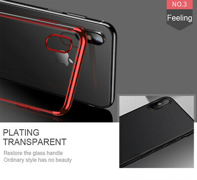 Case For iPhone 8 7 6s Plus XR XS MAX X Cover 360 Hybrid Shockproof Silicone GEL 6