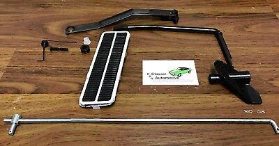 Camaro Nova Gas Pedal Kit with Throttle Linkage 12pc V8 accelerator kit 3