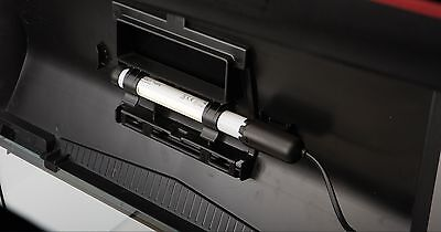 Aquael Aquarium Abdeckung 40x25 cm Leddy schwarz mit LED Beleuchtung 6 Watt