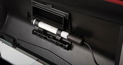Aquael Aquarium Abdeckung 60x30 cm Leddy schwarz mit LED Beleuchtung 6 Watt 2