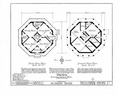 AUTHENTIC VICTORIAN OCTAGON House Plans blueprints ... on art house plans, circular house plans, plain and simple house plans, country house plans, contemporary house plans, simple one level house plans, ranch house plans, small house plans, ici house plans, timber frame house plans, cottage house plans, thermasteel house plans, european custom house plans, beach house plans, spy house plans, sip home plans, concrete house plans, insulated concrete home plans, sap house plans, scottish mansion house plans,
