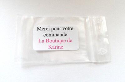 200 Fermoirs Embouts Plastique Caoutchouc Pour Boucles D'oreilles Tube Strie 4