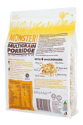 Multigrain Porridge - 40% Less Fat, Low GI - 6 x 700g 2