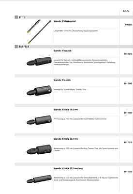 Vermop 8917020 Scandic X Stiel 23,5 mm Adapter System Xtrem Aufsatz Kupplung