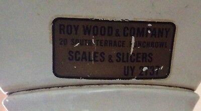 Antique Roy&Company Large Cast Iron Butcher Scale 11