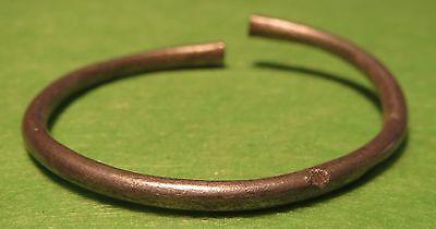 Scythian-Sarmatia Silver A Young Girl Bangle  7-3 th Century BC  4.4 grams