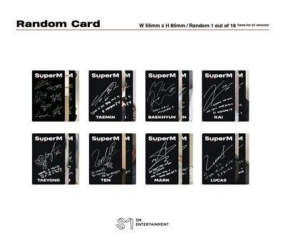 SuperM 1st Mini Album - [SuperM] UNITED Ver. CD+Booklet+Mini Booklet+Photocard 6