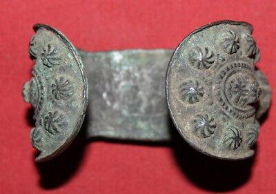 Antique Greek Orthodox Bronze Fertility Bracelet