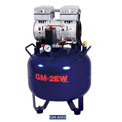 Dental Noiseless Oil-Free Oilless Air Compressor 32L Gas tank 850W AC220V DHL 2