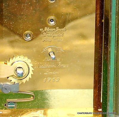 Matthew Norman Grande Corniche Vintage Swiss 8 Day Timepiece Carriage Clock 8