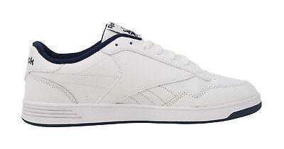 REEBOK Club Memt Memory Tech Classic White Navy Blue Athletic Sneakers Men Shoes 3