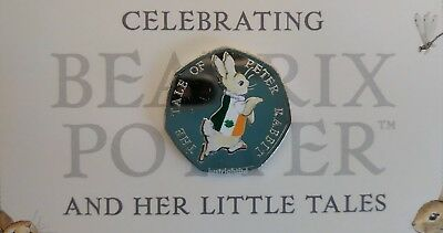Peter Rabbit 50p Coin 4 Nations England Ireland Scotland Wales Beatrix Potter 4