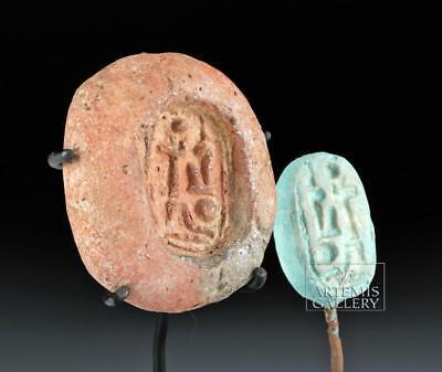 Egyptian 19th Dynasty Terracotta Seal Mold - Rameses II Lot 5