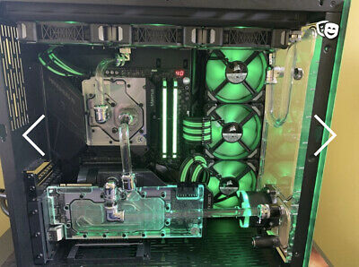 DYNAMIC UNO - Front Panel Acrylic Water Cooling Reservoir for D5 pump
