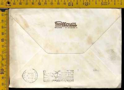 Autografo storia cultura industria lh 535 Ettore Moretti