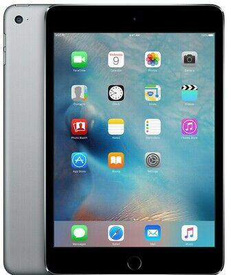 Apple iPad Mini 4 Wi-Fi + Cellular - 16GB 32GB 64GB 128GB Space Gray-Silver-Gold 2