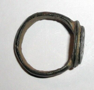 Ancient Byzantine Empire, Bronze Ring 3