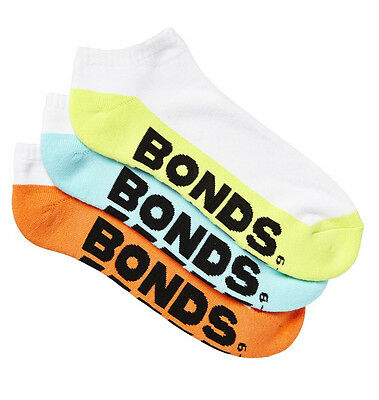 10 Pairs Brand New Bonds Men's Sports Ankle Low Cut Running Socks Sz 6 10 11 14 4