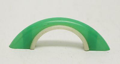 Green Vintage Plastic Bridge Pull 3