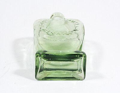 alte formschöne Medizin-Flasche Dr. ADOLF HOMMEL´S HAEMATOGEN um 1900-1920