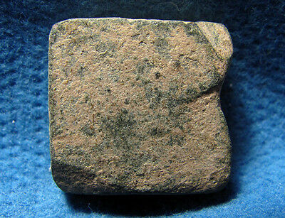 Judaea : Letters on Anient Byzantine weight 4-6cen.AD. 3 Numisma 10.18gram.