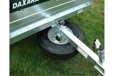 Trailer Spare Wheel Carrier Kit For 50 - 60Mm Drawbars Universal Maypole Mp195 3