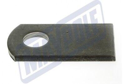 2 x 76MM x 95MM WELD ON ANTILUCE PLATE TRAILER GATE FENCE DOOR MAYPOLE MP840B 2
