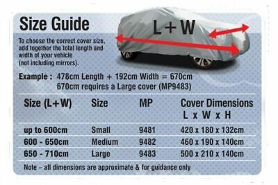 Medium Breathable Water Resistant Mpv / 4X4 Cover 4