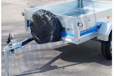 "Genuine Weather Proof 13"" 330Mm Trailer Spare Wheel Cover Erde Maypole Mp94713 3"