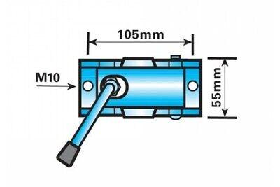 48mm Standard Duty Split Clamp for Trailer Jockey Wheels and Prop Stands 2