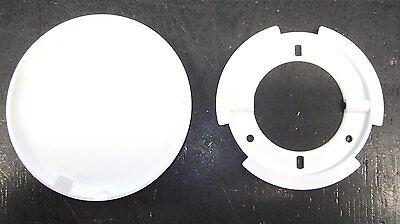 Mowi-Abdeckrosette  Ø 100mm H15mm weiß þ 10 Kunststoff