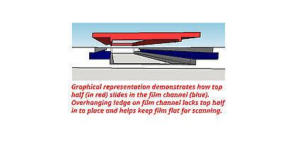 127 slide holder made for Epson 700//750//800//850 Scanners