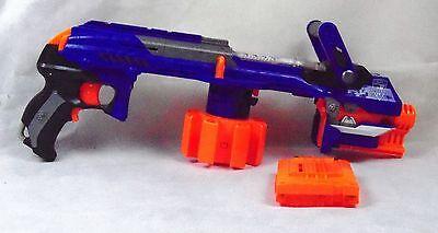 ... Nerf N-Strike Elite Hail Fire Gun with 6 Dart Magazine Clip - WITHOUT  GUARD