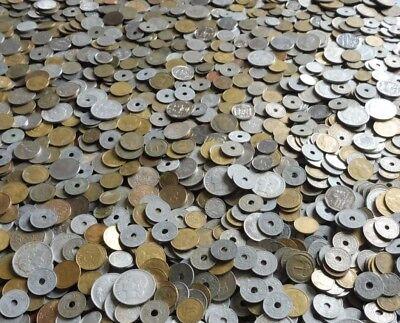 1 Kilo 500 De Pieces De France  -  Lot Varie Non Trie 2
